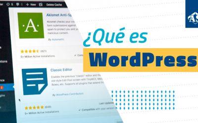 ¿Te gustaría saber que es WordPress y para que sirve?