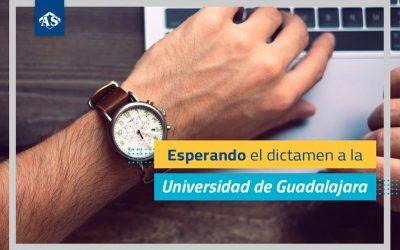 Esperando el dictamen a la Universidad de Guadalajara